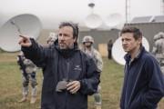 Denis Villeneuve et Jeremy Renner sur le plateau... (Associated Press) - image 1.0