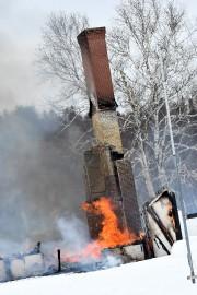 Le bâtiment est une perte totale, puisque les... (Le Quotidien, Rocket Lavoie) - image 1.0