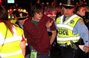 Un homme a été arrêté par la police... (Photo tirée du compte Twitter de The Advocate) - image 1.0