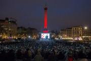 Environ 10000spectateurs, selon la mairie de Londres, ont... (Photo Daniel LEAL-OLIVAS, AFP) - image 3.0