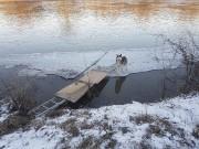 Un Husky a été sauvé alors qu'il se... (tirée de Facebook) - image 3.0