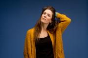 En 11 chansons largement autobiographiques, Amélie Beyries articule... (Photo Marco Campanozzi, La Presse) - image 2.0