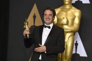Le Montréalais Sylvain Bellemare a remporté l'Oscar du... (AP, Jordan Strauss) - image 2.0
