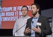 Mathieu Betts et Marc-Olivier Simard, joueurs de football... (Le Soleil, Yan Doublet) - image 5.0