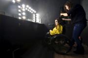 Alexandra Koutaassure avoir toujours rêvé d'être mannequin.... (AFP, SERGEI SUPINSKY) - image 2.0