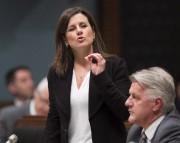 La ministre de la Justice, Stéphanie Vallée... (Photo Jacques Boissinot, archives La Presse Canadienne) - image 1.0