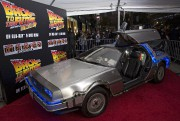 La mythique voiture DeLorean du film Retour vers... (Photo archives REUTERS) - image 1.0