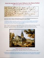Document reproduisant l'acte de mariagede Louis Hébert et... (Le Soleil, Erick Labbé) - image 2.0