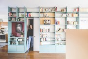 Une bibliotheque designée par Catherine Catherine, dans un... (Photo Raphael Thibodeau, fournie par Catherine Catherine) - image 2.0