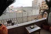 La vue d'une chambre duWalled Off Hotel.... (PHOTO Thomas COEX, AFP) - image 1.1
