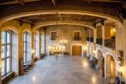 La salle de réceptionMount Stephen Hall, avec de... (PHOTO YANNICK FLEURY, LA PRESSE) - image 1.1