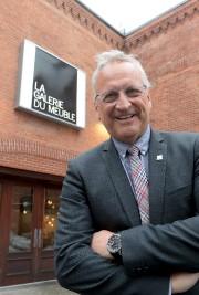 Luc St-Cyr, président de la Galerie du Meuble... (Le Soleil, Erick Labbé) - image 2.0