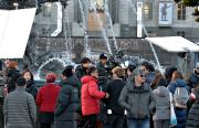 L'équipe coréenne lors du tournage à Québec, à... (Photothèque Le Soleil, Pascal Ratthé) - image 2.0