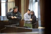 À droite, l'avocate Cristina Bergner et son client,Evgeny... (Photo Soren Andersson / TT via AP) - image 1.0