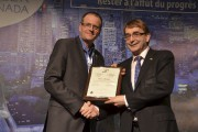 Éric Ashby, vice-président Domtar et président de PAPTAC,... (Courtoisie) - image 4.0