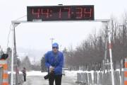 Saguenay (Chicoutimi),course des pichousGagnant homme marche Jacques BouchardPhoto... (Photo Le Progrès-Dimanche, Michel Tremblay) - image 2.1