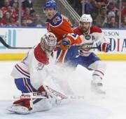 Ryan Nugent-Hopkins s'est buté au bloqueur de Carey... (La Presse canadienne, Jason Franson) - image 5.0