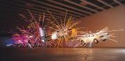 Une exposition de «voituresen explosion» datant de 2004.... (PHOTO : HIRO IHARA) - image 2.0