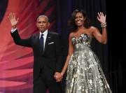 Barack et Michelle Obama... (AP, Pablo Martinez Monsivais) - image 2.0