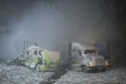 Un des camionneurs impliqués dans l'accident sur l'autoroute... (PHOTO DAVID BOILY, LA PRESSE) - image 2.1