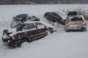 Heureusement, la plupart des automobilistes s'en sont sortis... (Spectre Média, Jessica Garneau) - image 1.1