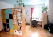 Cette bibliothèque IKEA (la Kallax) sert à la... (Le Soleil, Erick Labbé) - image 2.0