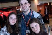 Philippe Belley était accompagné de ses filles Clara... (Le Quotidien, Rocket Lavoie) - image 2.0