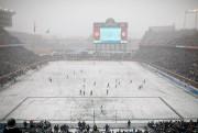 Dimanche dernier, c'est sous un froid mordant et... (PhotoJeff Wheeler, Associated Press) - image 2.0