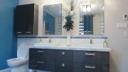 La cuisine et la salle de bains sont... (Ébénisterie Lac-St-Jean) - image 1.0