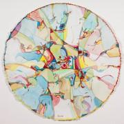 Les journées d'août, 2015, Alex Janvier, aquarelle sur... (Photo fournie par le Musée des beaux-arts du Canada) - image 2.0