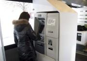 On retrouve même un guichet automatique à l'intérieur... (Sylvain Mayer) - image 2.0