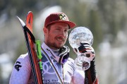 L'Autrichien Marcel Hirscher a remporté le slalom géant... (AFP, Ezra Shaw) - image 5.0