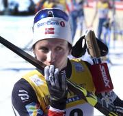 Marit Bjoergen, 37 ans, a remporté la poursuite... (Le Soleil, Jean-Marie Villeneuve) - image 5.0