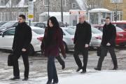 Sur la photo, on voit les quatre policiers... (François Gervais, Le Nouvelliste) - image 1.0