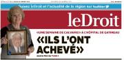 Encore une fois, deux artisans du quotidien Le Droit, la journaliste... - image 2.0