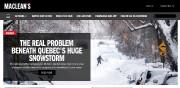 Le texte de Maclean's intitulé «Comment une tempête... (www.macleans.ca) - image 2.0