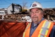Guy Boisvert, propriétaire de Construction et démolition GB,... (François Gervais, Le Nouvelliste) - image 1.0