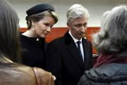 Le roi Philippe et de la reine Mathilde... (AP, Didier Lebrun) - image 2.0