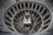 Après neuf mois de restauration, le tombeau du... (AP, Dusan Vranic) - image 2.0