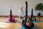 L'instructrice Sophie Trudeau au Centre de Yoga Santé... (Photo Robert Skinner, La Presse) - image 1.0