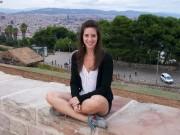 Sophie Rouleau-Verville, tout sourire à Barcelone... (Fournie par Sophie Rouleau-Verville) - image 4.0