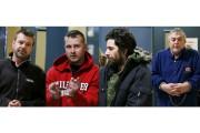 Quatre des neuf personnes arrêtées, soit Pascal Proulx,... (La Voix de l'Est) - image 1.0