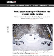 L'auteur du texte publié lundi par le MacLean's,... - image 2.0