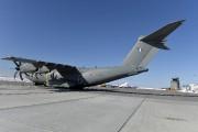 Un A-400M, avion de transport tactique à turbohélice,... (Photo Le Quotidien, Jeannot Lévesque) - image 1.0