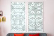 Nous avons utilisé des chutes de papier peint... (Photo Olivier Jean, La Presse) - image 1.1