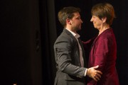 Gabriel Nadeau-Dubois et Françoise David... (PHOTO OLIVIER JEAN, LA PRESSE) - image 2.0
