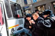 Arrêté dès le début de la manifestation, Alexeï... (PHOTO AGENCE FRANCE-PRESSE) - image 1.1