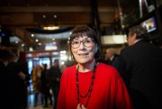 Dans sa loge, la comédienne Monique Miller s'entoure... (Photo Olivier PontBriand, Archives La Presse) - image 1.0