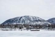 Le mont Saint-Hilaire est bien visible de Beloeil.... (Photo Edouard Plante-Fréchette, La Presse) - image 1.1