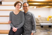Audrée Gosselin et Vuthy Thong... (PHOTO OLIVIER PONTBRIAND, LA PRESSE) - image 2.0